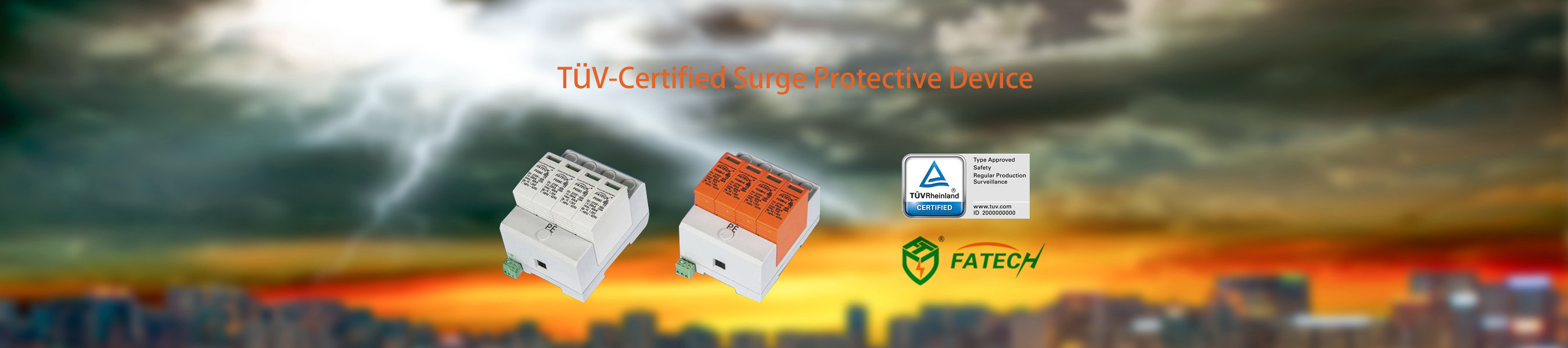TUV-certified Surge Protective Device