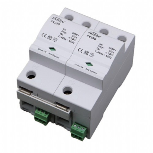 1 phase type 1 25kA surge arrester