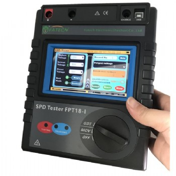 finger touch screen SPD tester