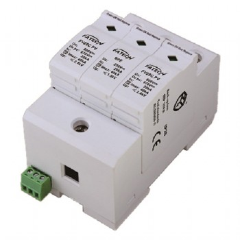 surge arrester for photovoltaic system 1000Vdc, common & differental mode