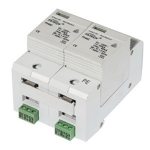 type 1+2 500Vdc surge protector